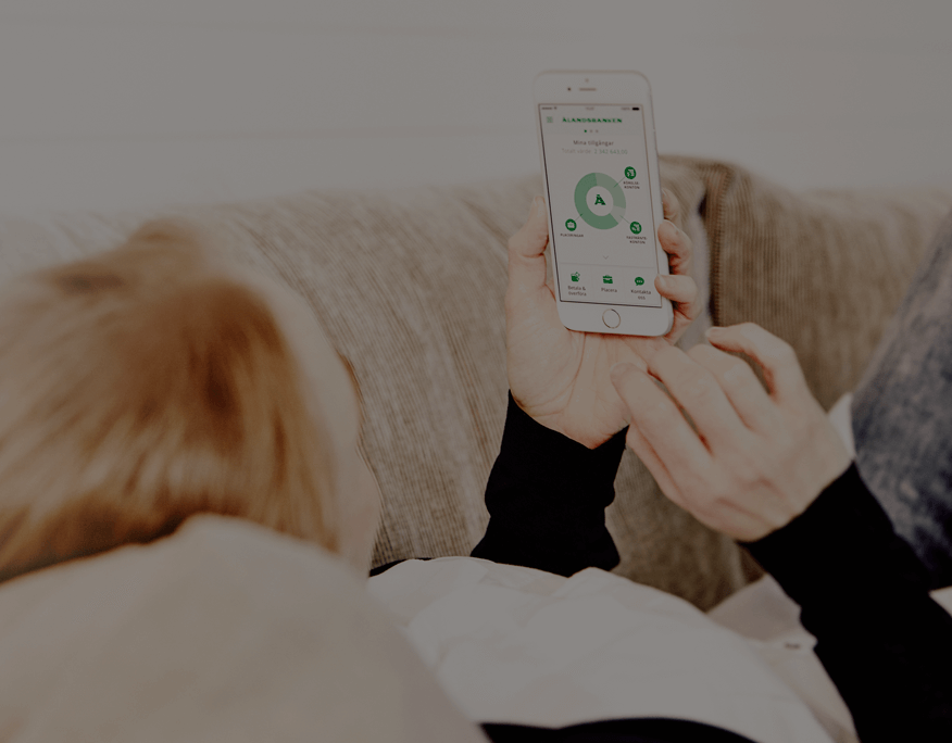 Ålandsbanken - Använd Mobilbanken